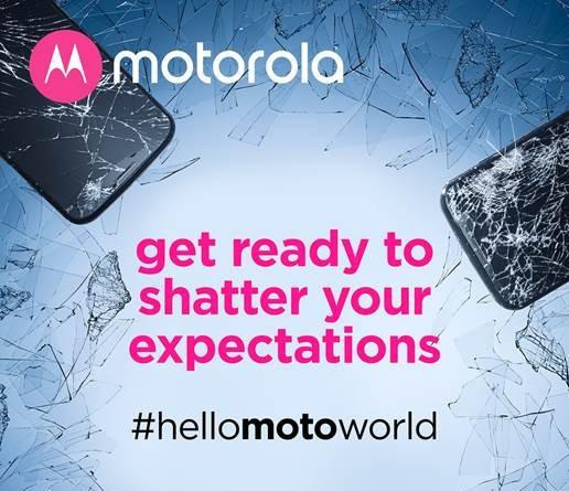 Invitación de Motorola al anuncio oficial del Moto Z2 Force.