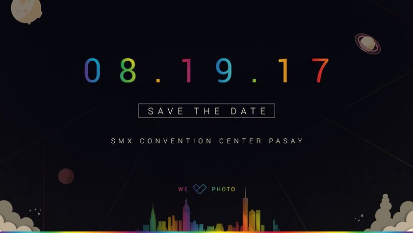 Invitación de ASUS a un evento el 19 de agosto en el SMC Convention Center de Pasay, Filipinas.