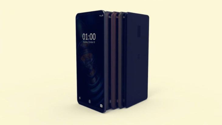 Renders conceptuales del OnePlus 6.