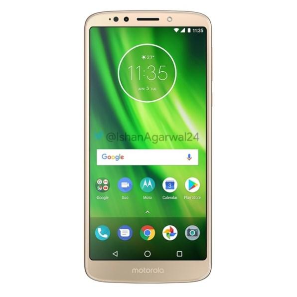 Motorola Moto G6 Play dorado 2