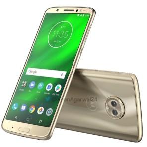 Motorola Moto G6 Plus dorado 1
