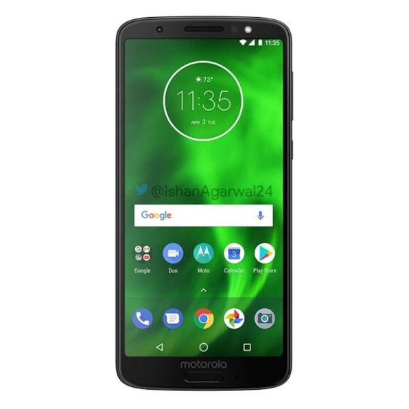 Motorola Moto G6 negro 1