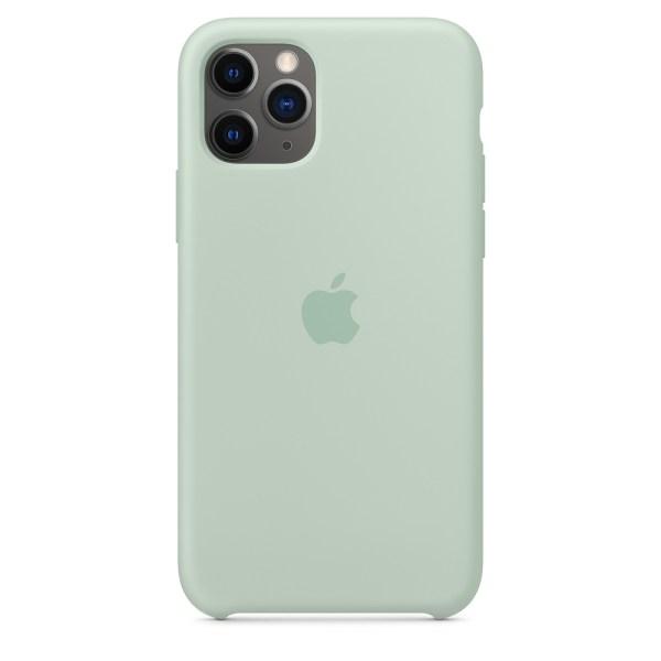 Husa de silicion originala Apple iPhone 11 Pro Beryl