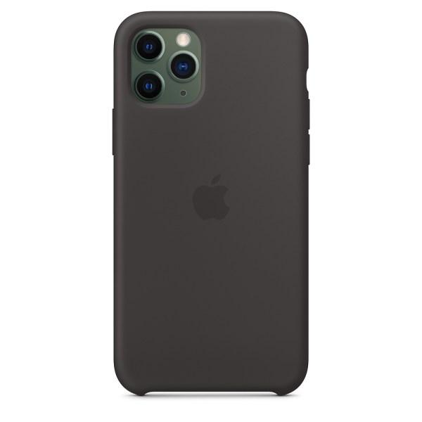 Husa de silicion originala Apple iPhone 11 Pro Black