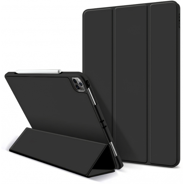 Husa TabletaSmartCase si Pen pentru Apple IPad Pro 11 / Apple IPad Pro 11 (2020), Neagra