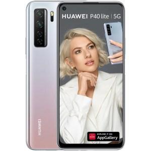 Huawei P40 Lite, Dual SIM, 128GB, 6GB RAM, 5G, Space Silver