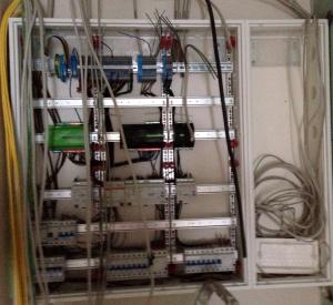 Elektroinstallation - Der Verteilerschrank meiner Wohnung