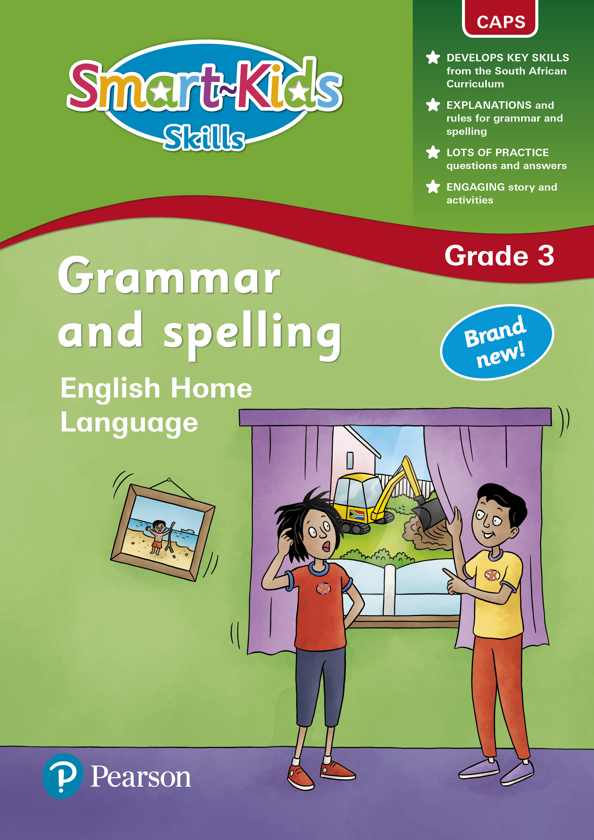 Smart Kids Skills Grammar And Spelling Grade 3