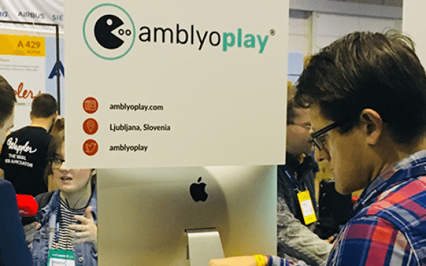 AmblyoPlay among exibitors of Web Summit!