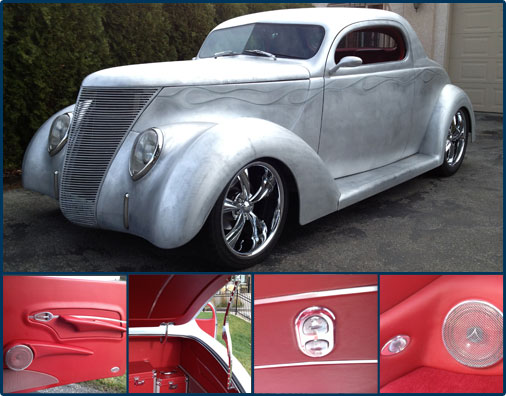 Classic Custom And Hot Rod Automotive Interior Parts And