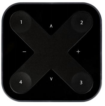 Interrupteur Xpress Casambi commande Noir