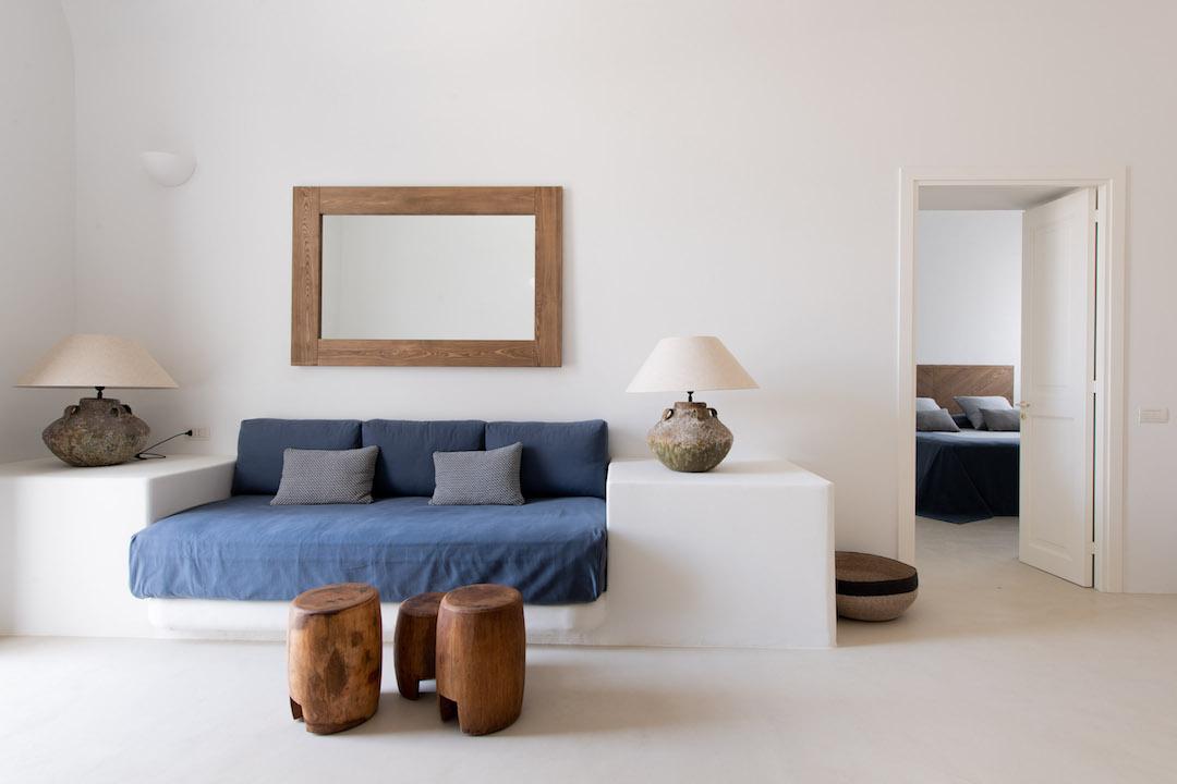 10 Capofaro Locanda & Malvasia _ Livingroom einer Suite