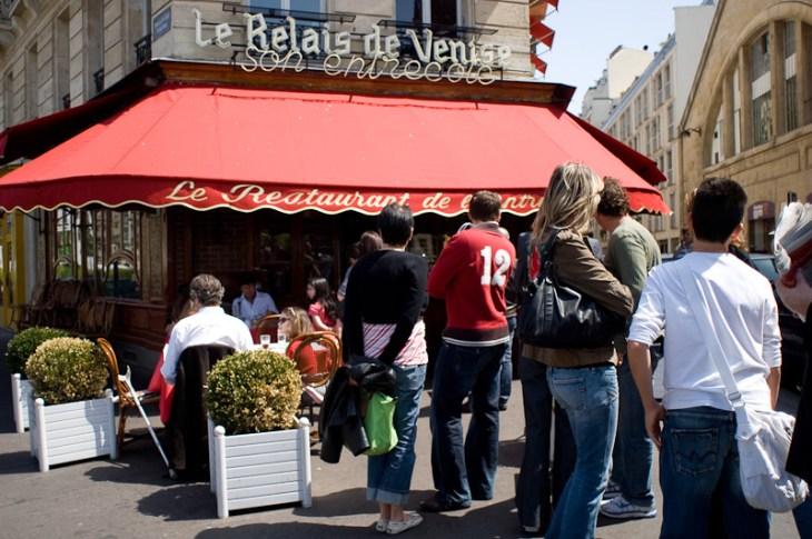 Le Relais de Venise in Paris