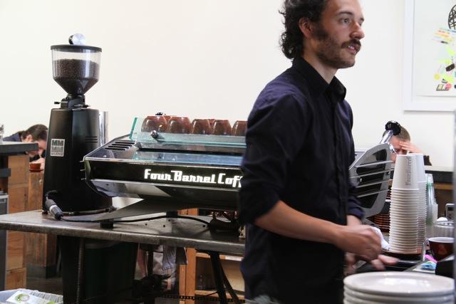 Four Barrel Coffee in San Francisco