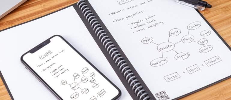 Všetko o smart riešení Rocketbook