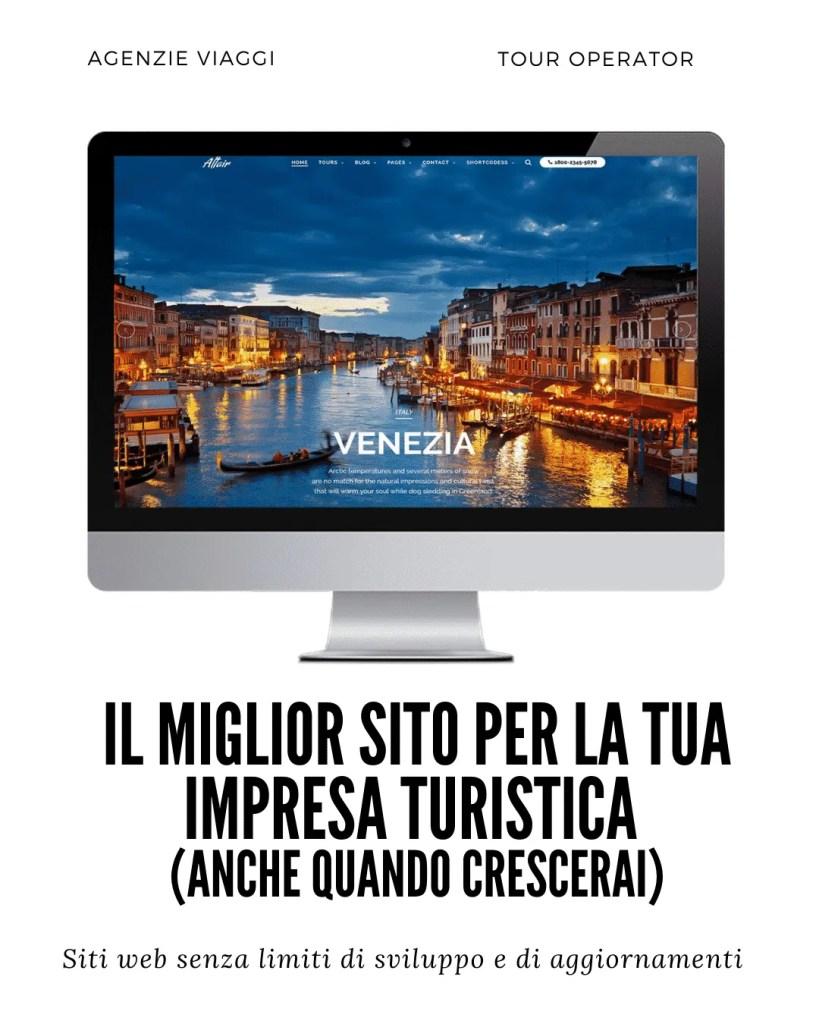 realizzazione siti web turistici