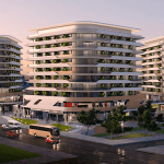 Luxury properties for sale in Istanbul, Turkey, in Merter area in the city center with strategic location near to tramway line
