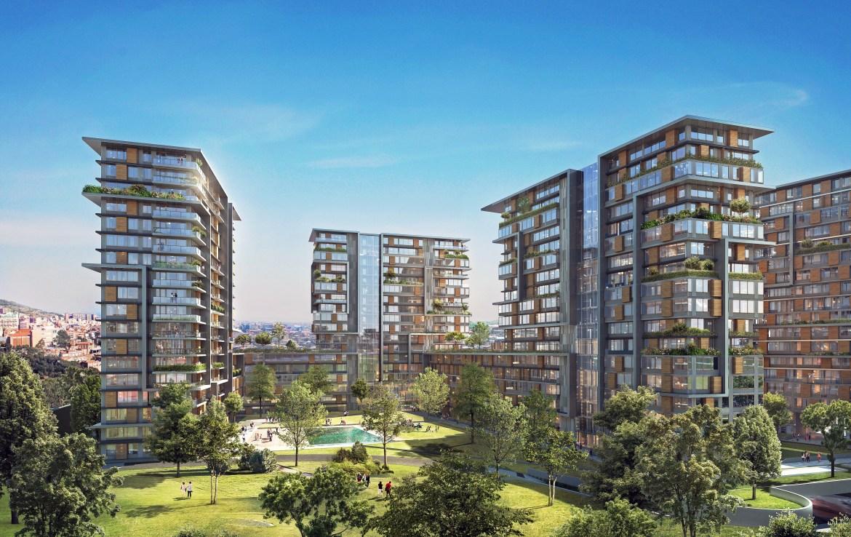 Properties for sale in Istanbul located in the city center near to metro station. شقق للبيع في اسطنبول تقع بالقرب من محطة مترو