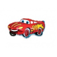 Balon Folie Minifigurina Cars, suport bat inclus, 35 cm