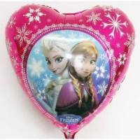Balon Folie inima Frozen, 45 cm