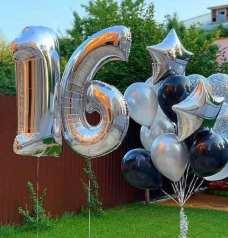 baloane cifre 16