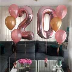 baloane cifre 20