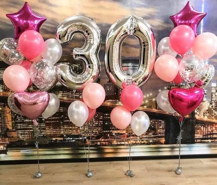 baloane cifre - 30
