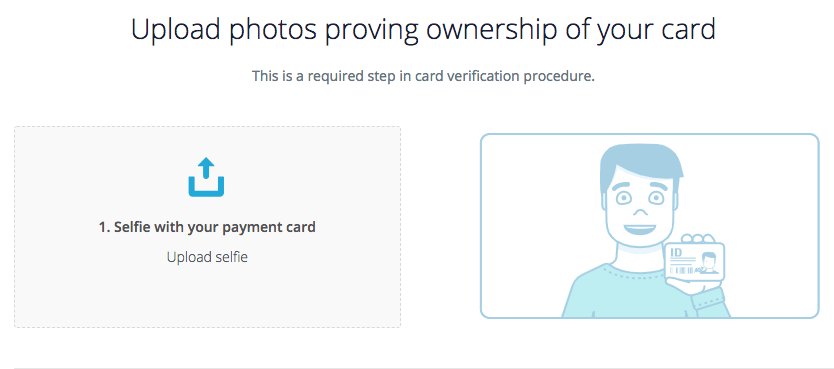 Upload Photos Payment Card