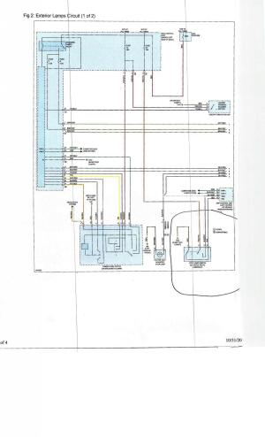 External lights wiring diagram  Smart Car Forums