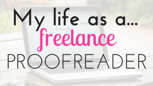 make money as a freelance proofreader