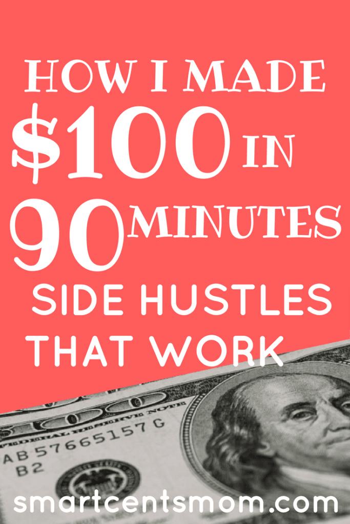 focus group side hustle make extra money