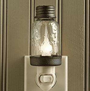frugal mothers day gift mason jar night light