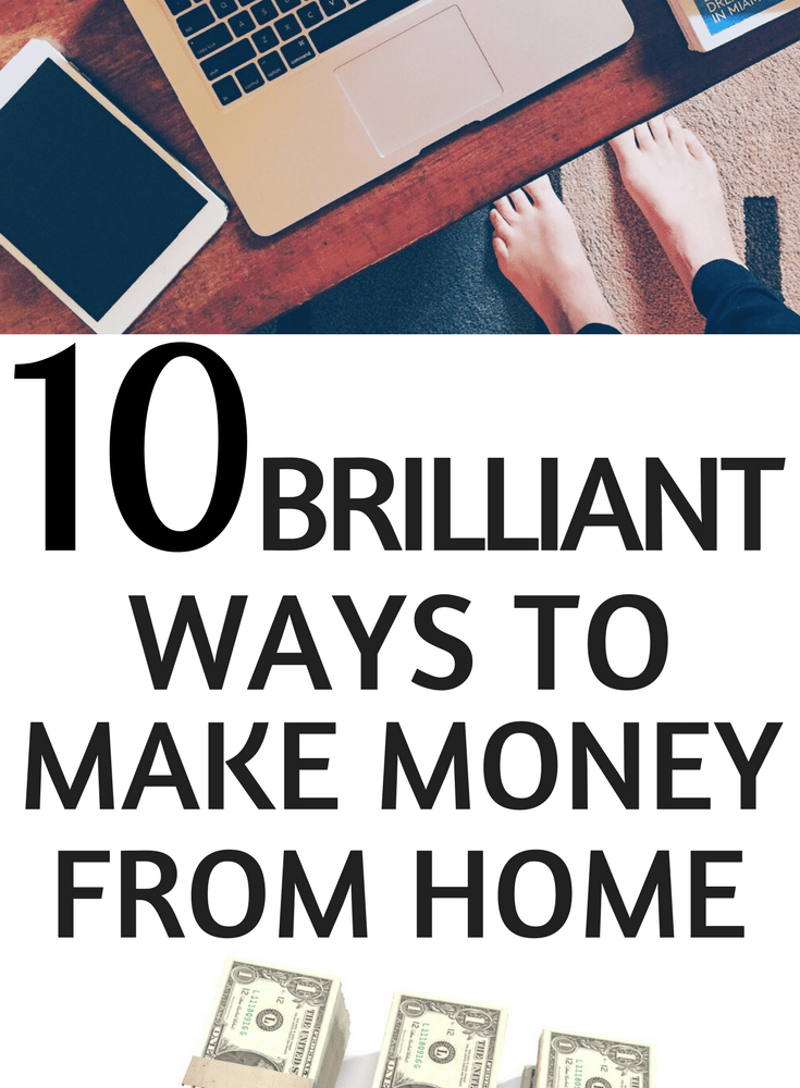 10 Ways to Make Extra Money at Home