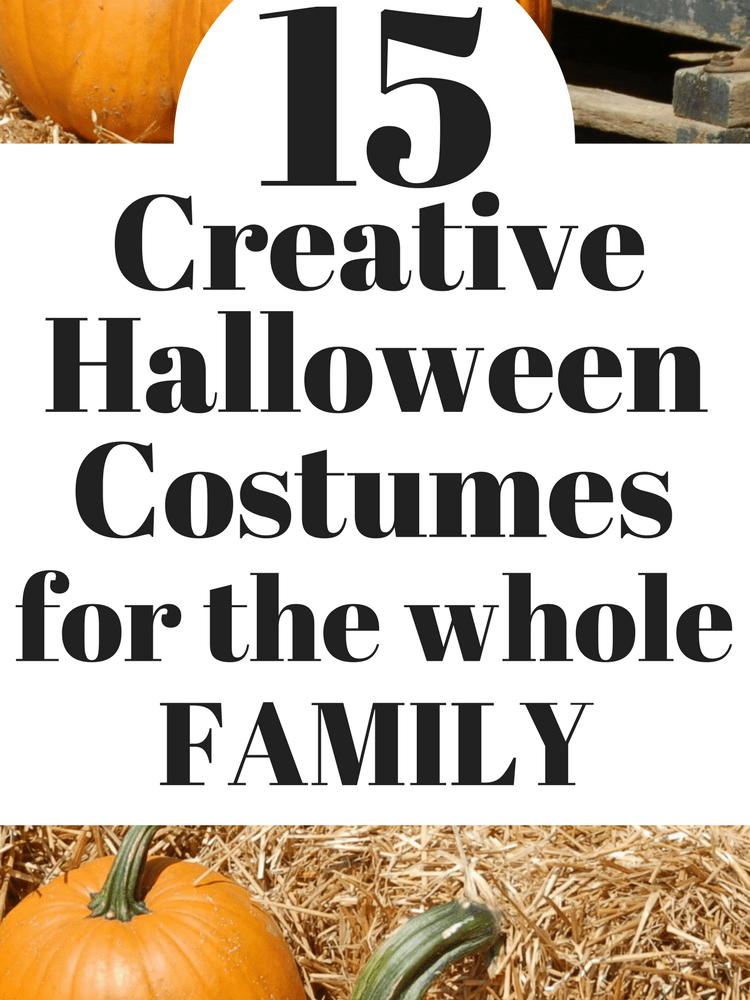 Amazing Halloween Costume Ideas for the Family
