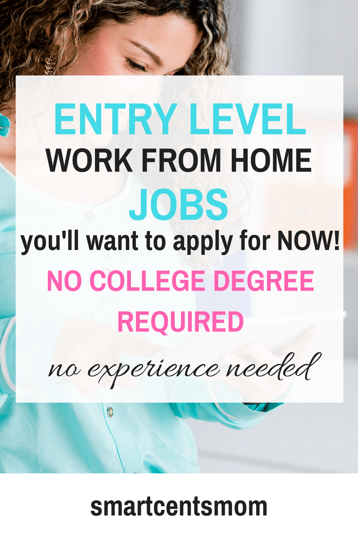 Work from home jobs no experience needed