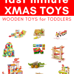 I have been searching for the best wooden toys for toddlers. I love that these toys encourage creative and imaginative play for boys and girls. You may even remember some of these from when you were a child! #toys #toysforboys #toysforgirls #christmas