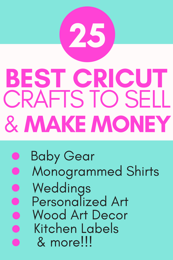 Hobbies That Make Money Making Money With Cricut