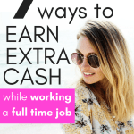 ways to make money on the side with a full time job