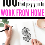 Who doesn't want to work from home in their jammies?! These companies offer legit online jobs that pay!Here are the top 100 online jobs from home! If you want to find the best online jobs from home this list will help you get started on your work from home journey.