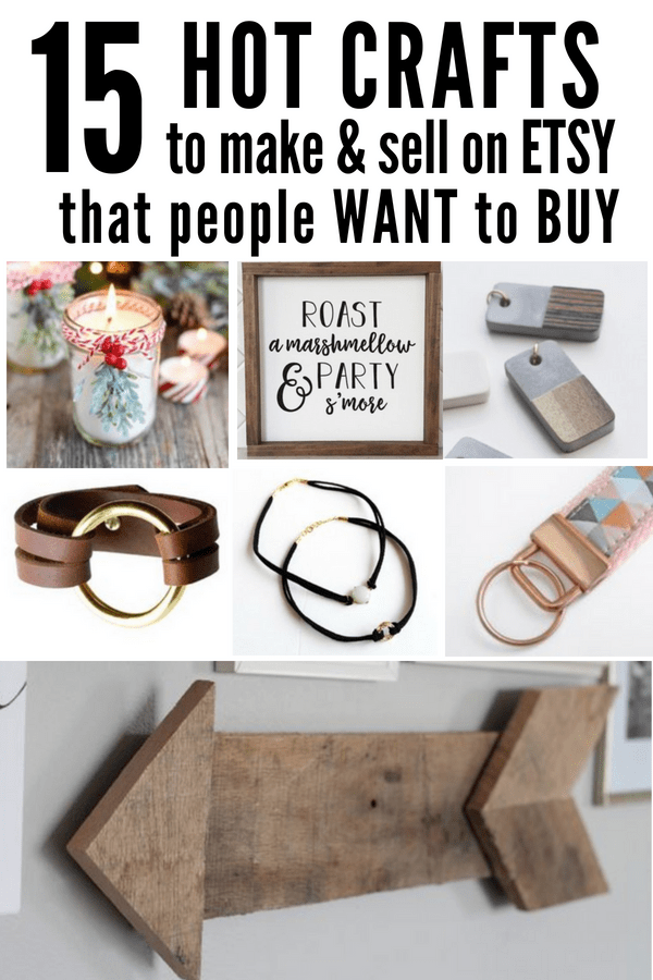 Hot Craft Ideas to Sell on Etsy - Smart Cents Mom