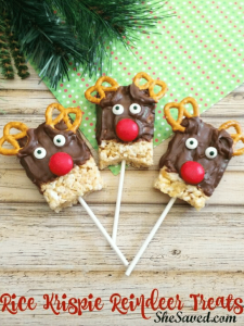 rice krispy reindeer treat to sell