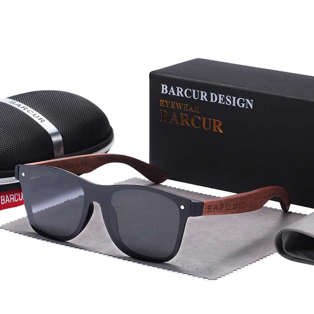 unisex polarized sunglasses black