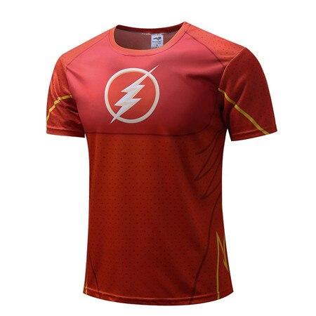 superheroes style t shirts flash