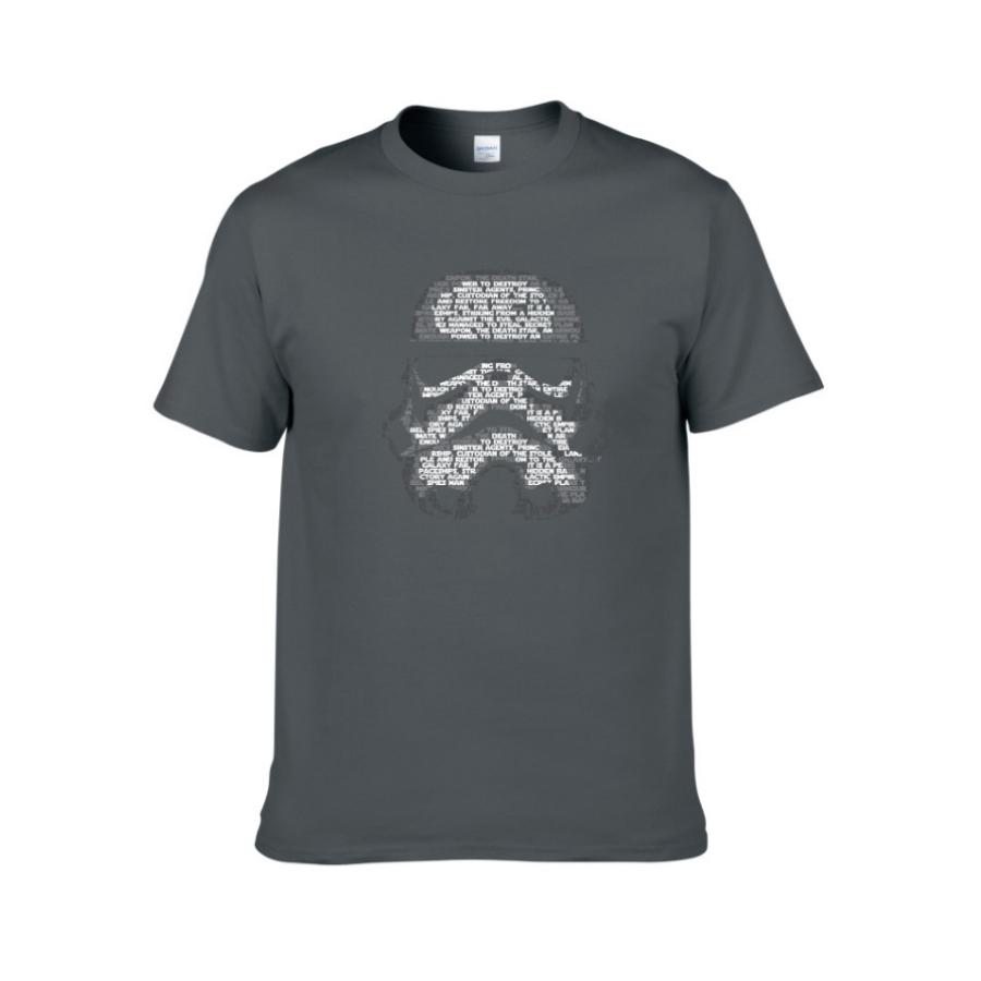 stormtrooper casual t shirts grey