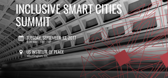 INCLUSIVE SMART CITIES SUMMIT 2017