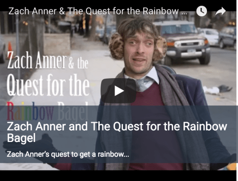 Category- Zach Anner Zach Anner and The Quest for the Rainbow Bagel