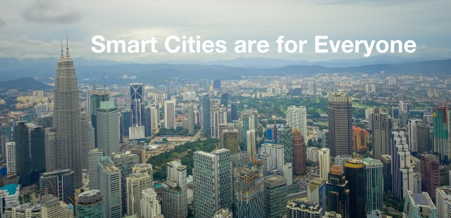 SMART CITIES ARE FOR EVERYONE