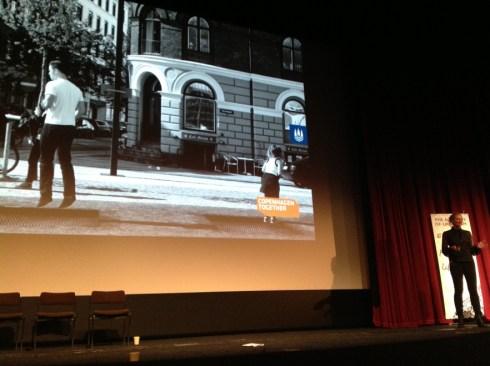Tina Saaby, Copenhagen's City Architect, addressing the Academy of Urbanism Congress in Bradford
