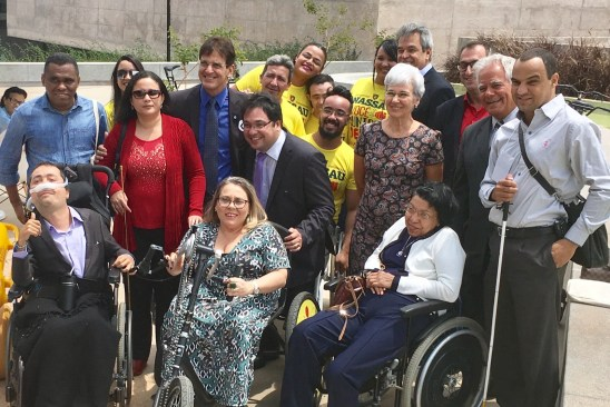 Smart Cities for All meets with Disability Activists in Brasilia