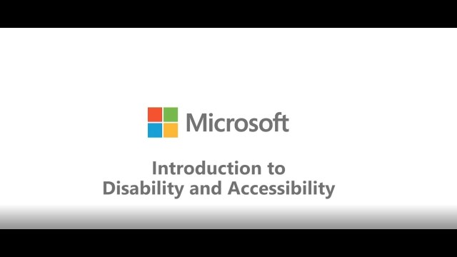Introduction to Disability and Accessibility (audio described version) – YouTube